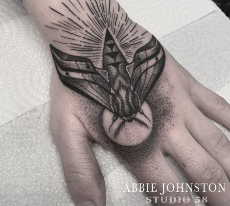 Abbie tattoos Carlisle studio 58