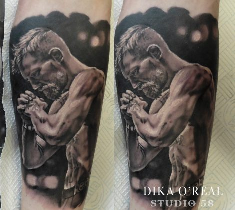Dika tattoo mcgregor